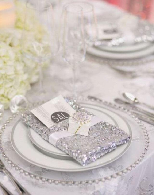 Decoração bodas de prata
