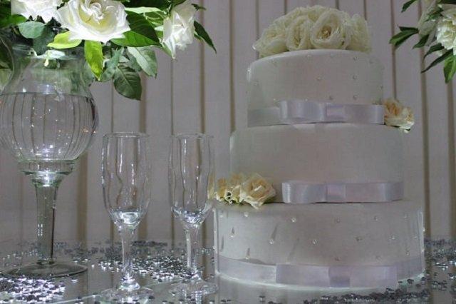 Bolo bodas de prata