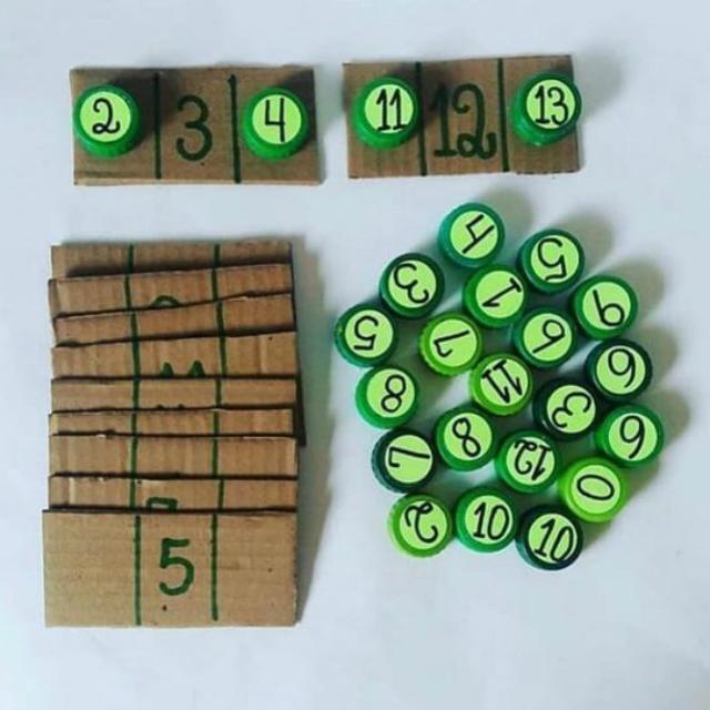 Brincadeira com números