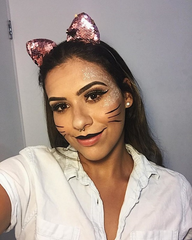 Como ganhar dinheiro fazendo tiara de gatinho com lantejoula
