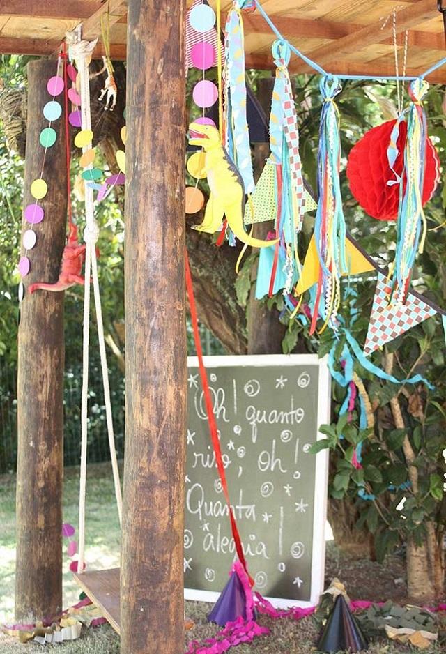 Decoração para festa de carnaval