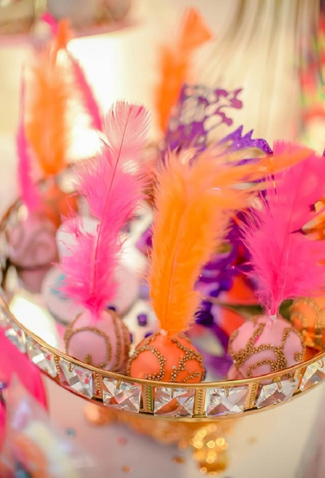 Doces de festa de carnaval