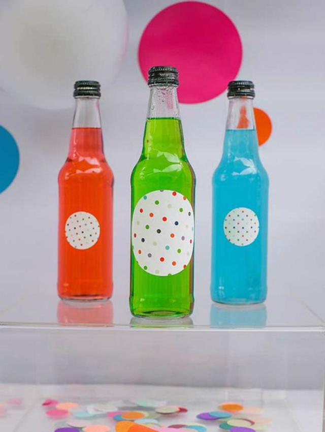 Bebidas coloridas