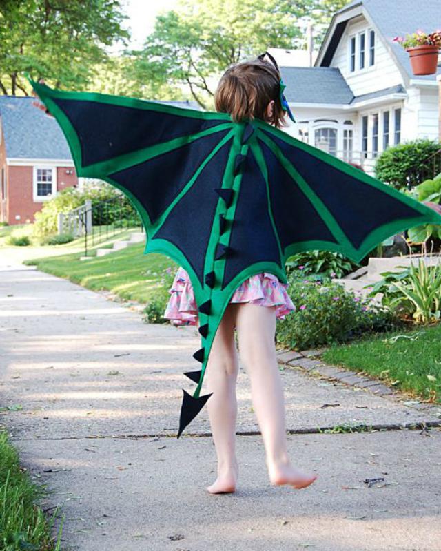 Fantasia Infantil de dragão