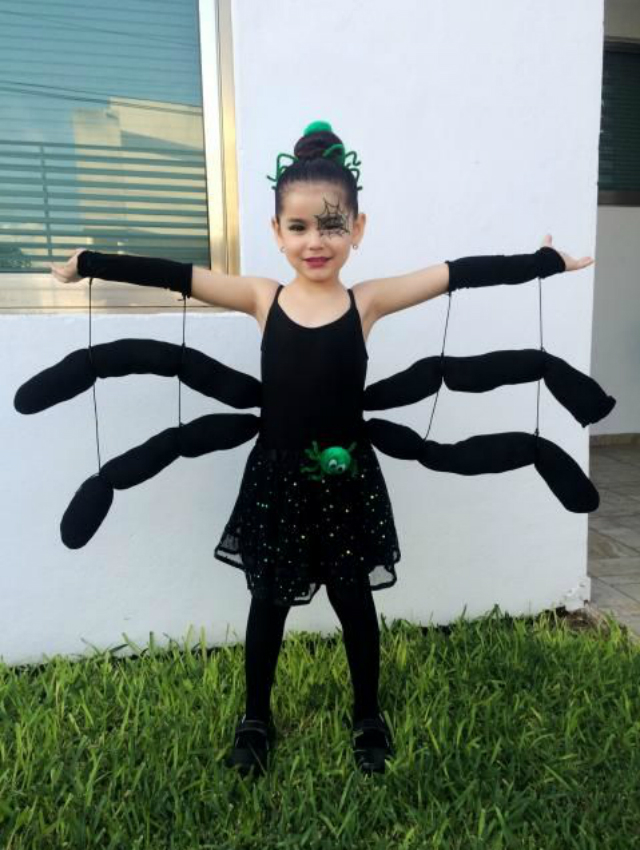 Fantasia Infantil de aranha