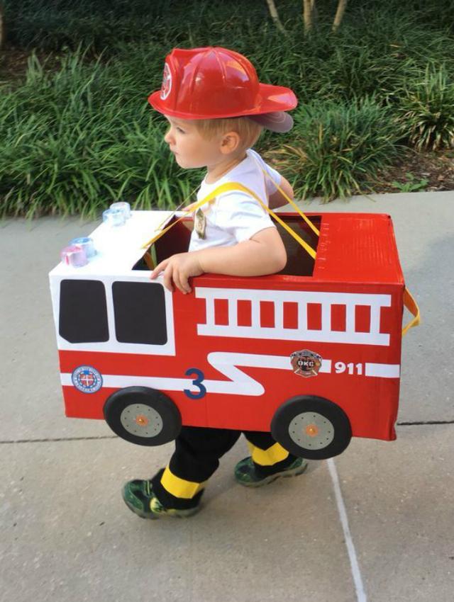 Fantasia Infantil de bombeiro