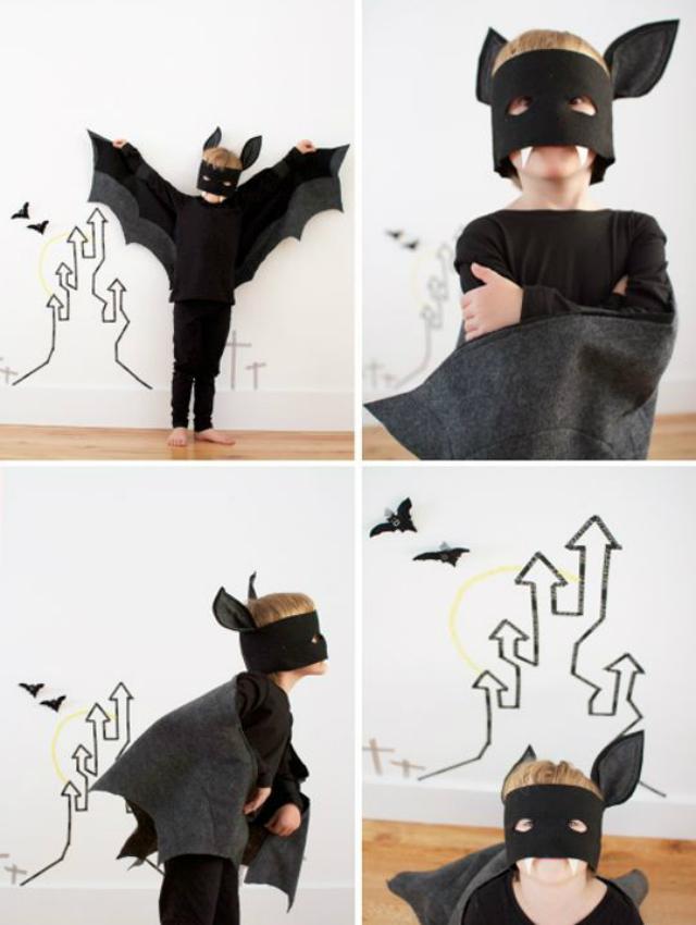 Fantasia Infantil de morcego