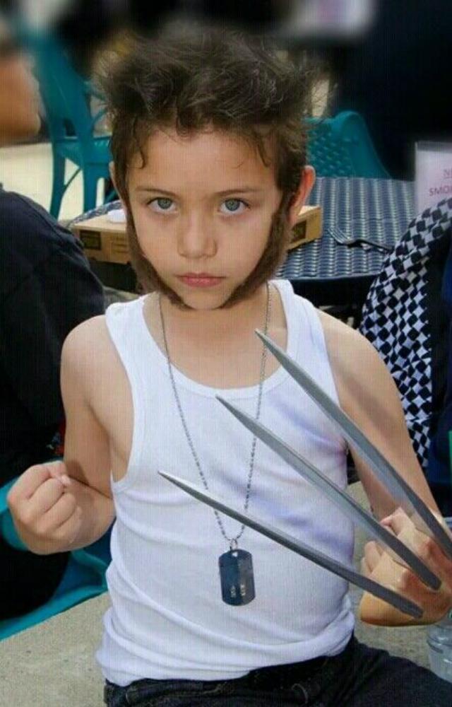 Fantasia Infantil Wolverine