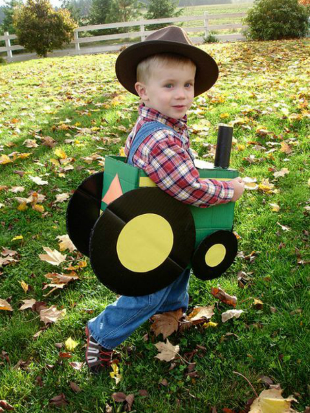 Fantasia Infantil de fazendeiro
