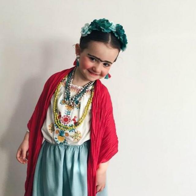 Fantasia Infantil da Frida Kahlo