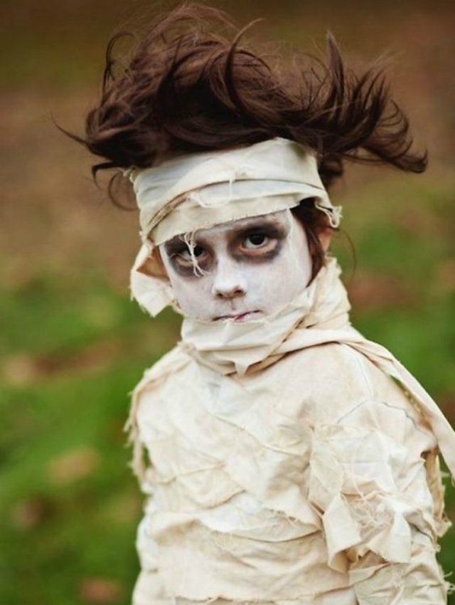 Fantasia Infantil de múmia