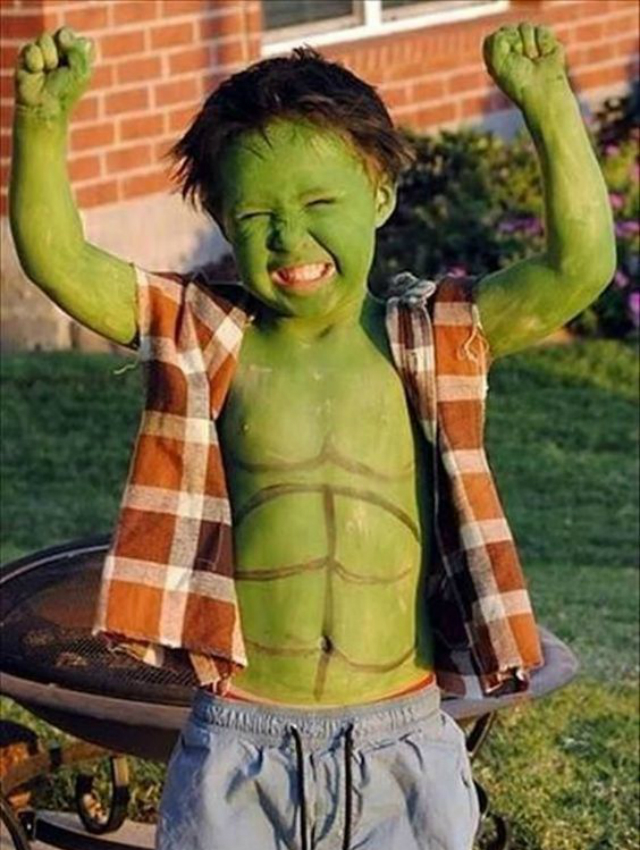 Fantasia Infantil do Hulk