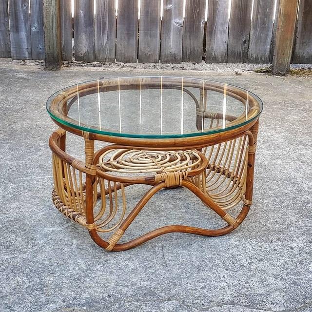 Centro de mesa de bambu