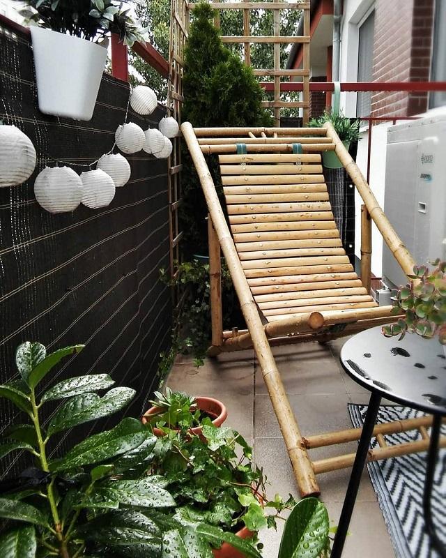 Cadeira de bambu