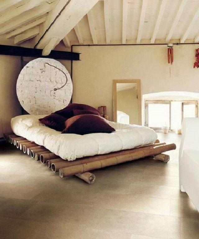 Cama de bambu