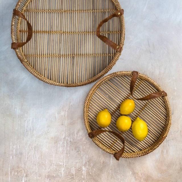 Fruteira de bambu