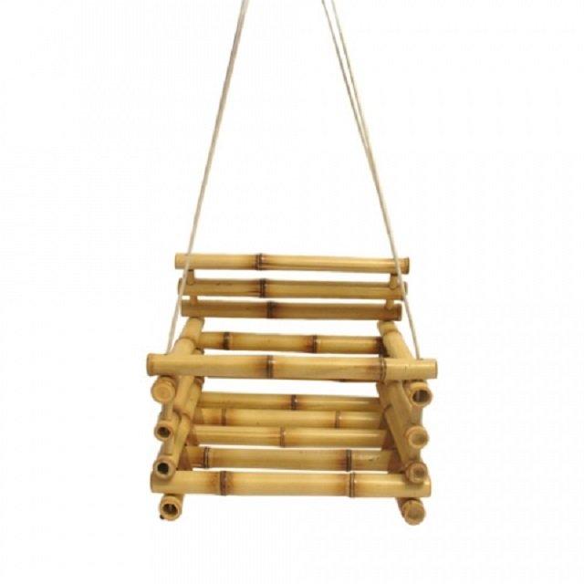 Balanço de bambu