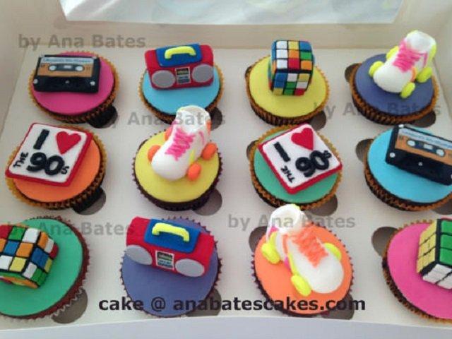 Cupcake anos 90