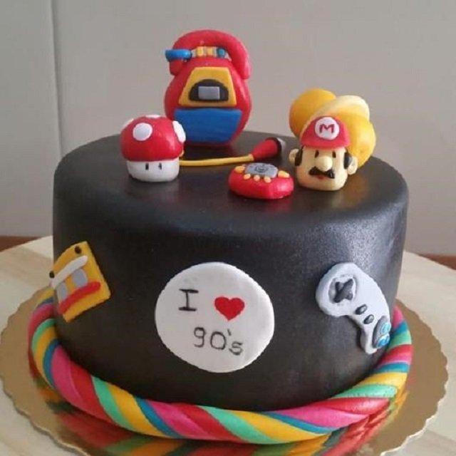 Bolo do Super Mario Bros