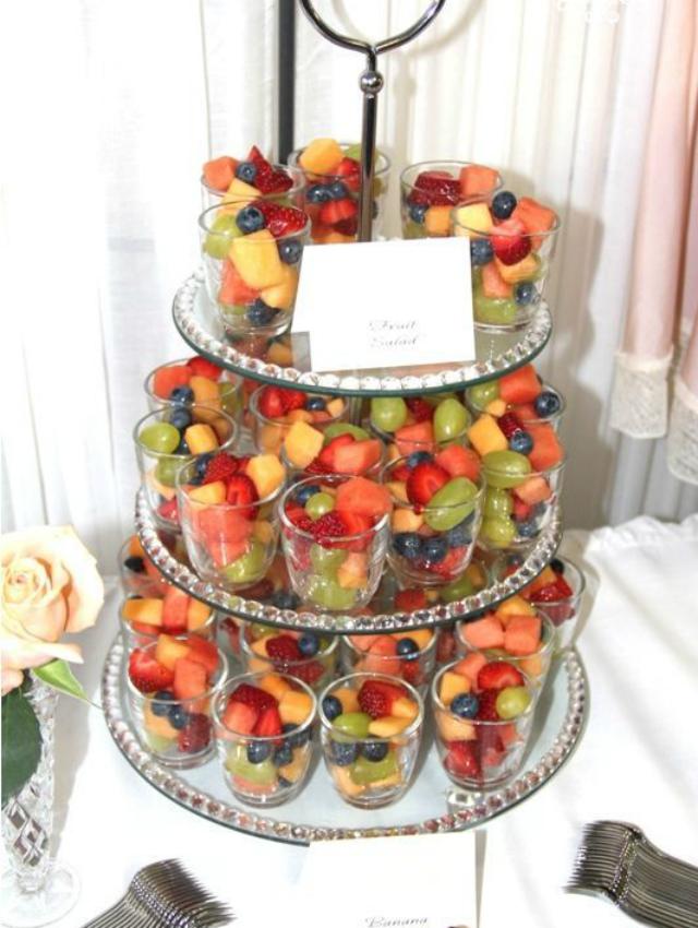 Copinho com frutas