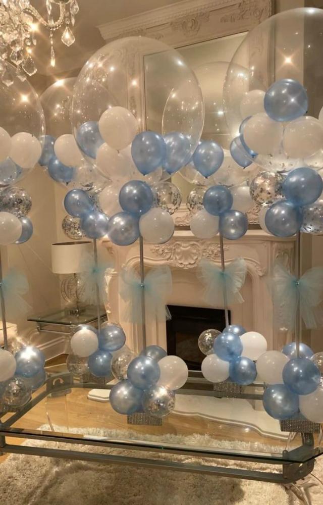 Enfeite de balões