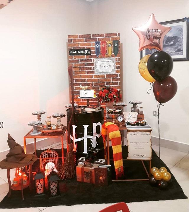 Festa com tema Harry Potter
