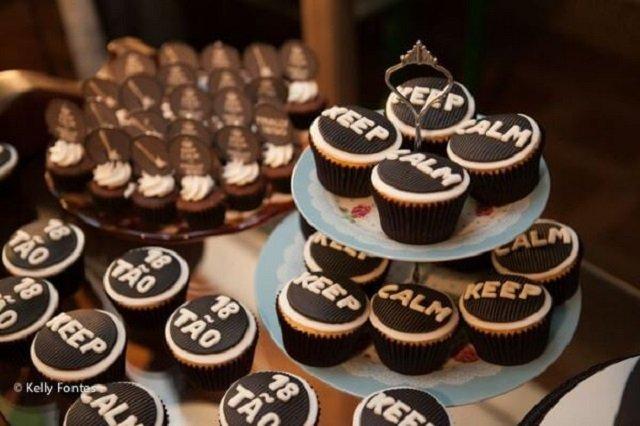 Cupcake keep calm
