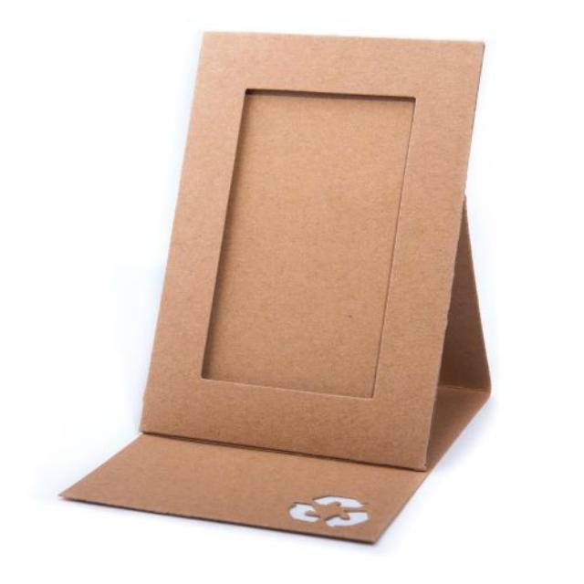 Porta retrato de papelão