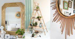 110 Modelos de Artesanato Com Bambu Para Decorar sua Casa
