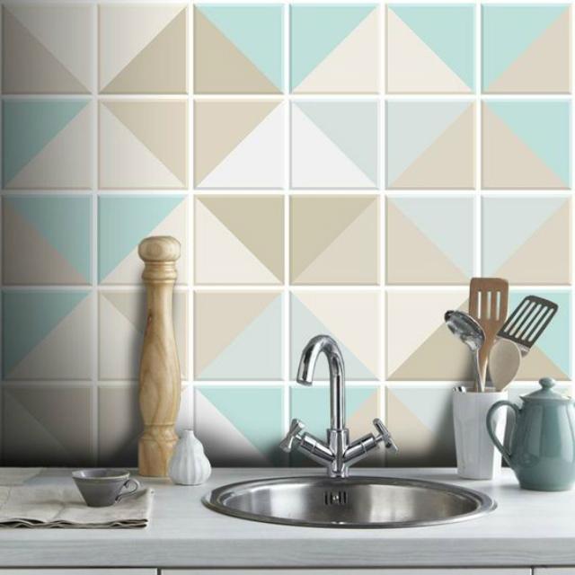 Papel de parede de azulejo