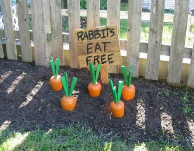 Enfeites de cenoura para Páscoa