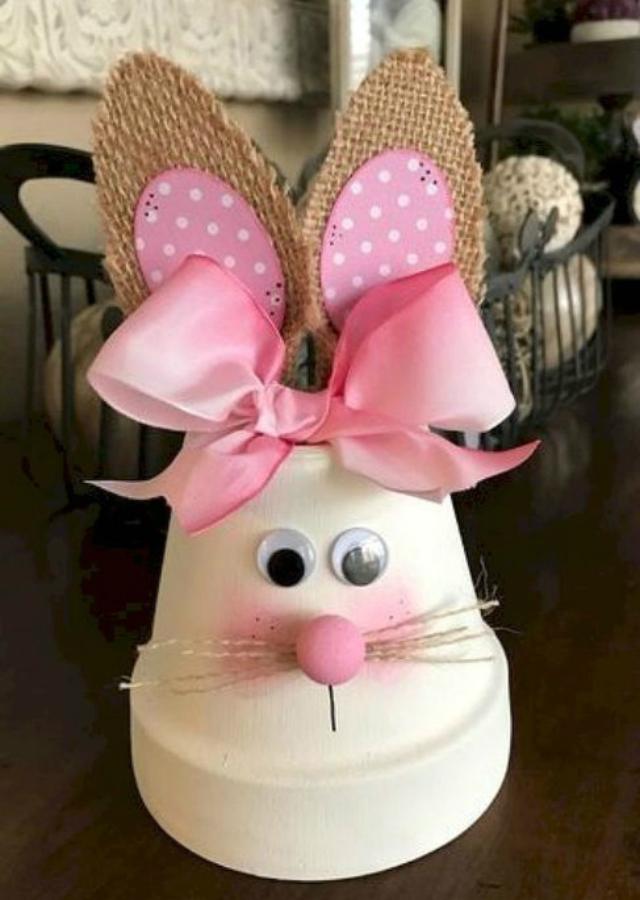 Enfeite de coelho da Páscoa