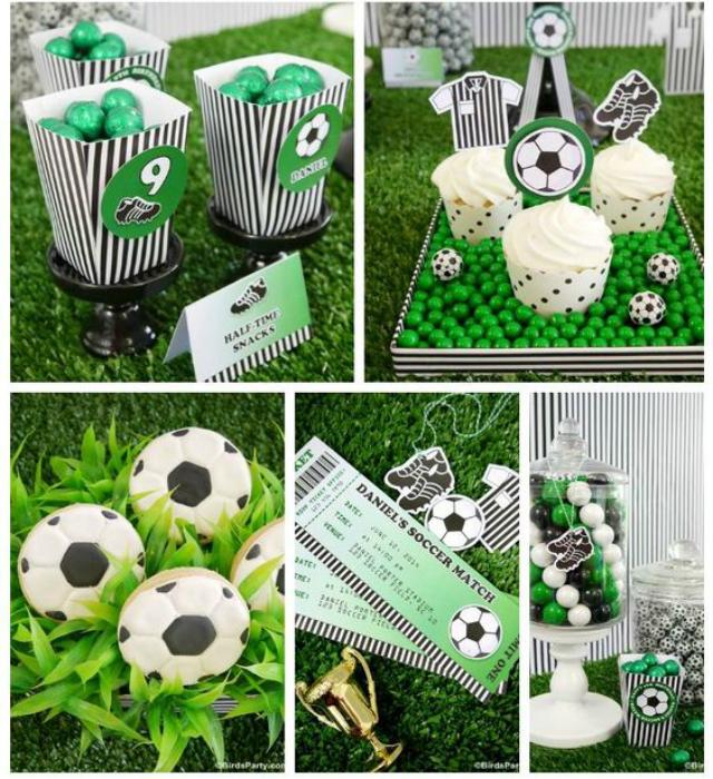 Lembrancinhas de festa de futebol