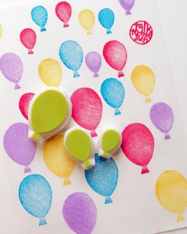 Carimbos  de balões de EVA