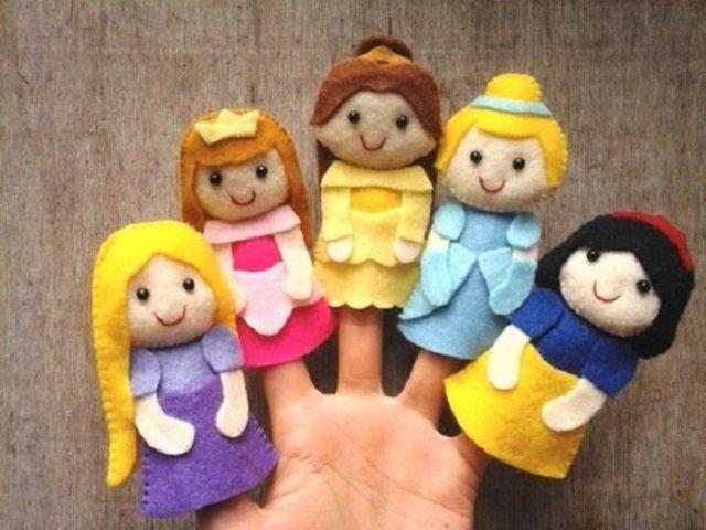 Dedoches de princesas