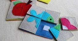 21 Brinquedos Educativos em Feltro para Fazer em Casa