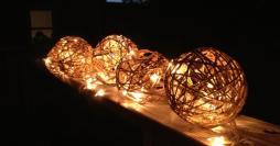 27 Modelos Lindos de Luminária de Barbante + Passo a Passo