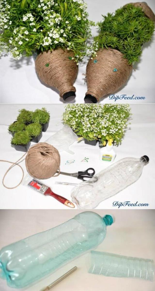 Vasos personalizados de garrafa pet