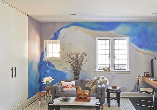 Pintura aquarelada