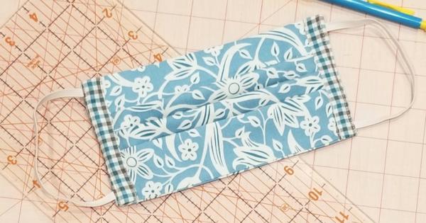 Máscara de tecido para proteção