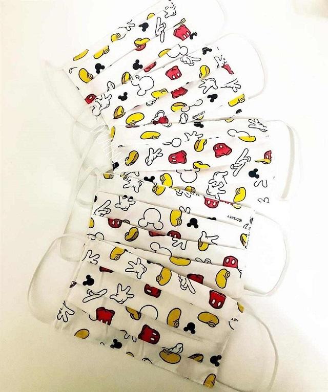 Máscaras de proteção mickey