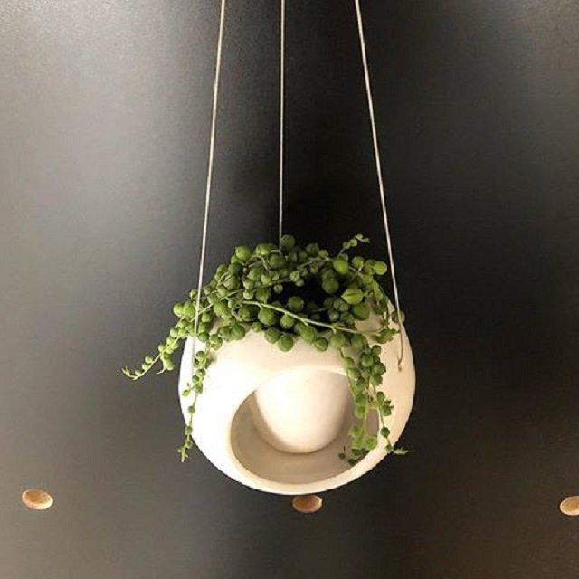 Vaso para plantas pendente