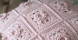 Aprenda Como Fazer uma Almofada de Crochê em Barbante