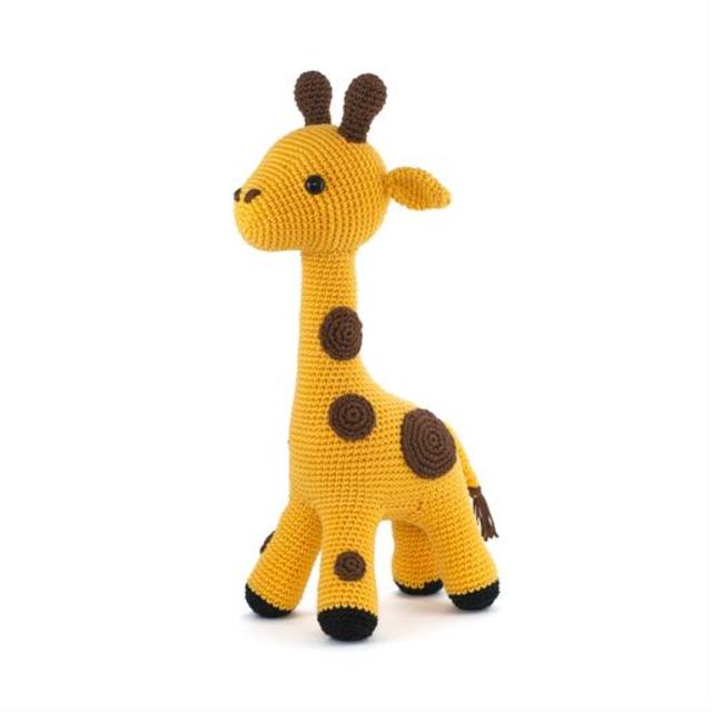 Girafa de amigurumi