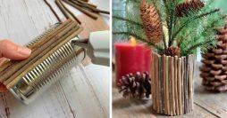 25 Ideias Criativas de Decoração com Reciclagem para Fazer em Casa