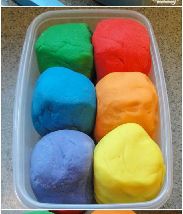 Massinhas coloridas