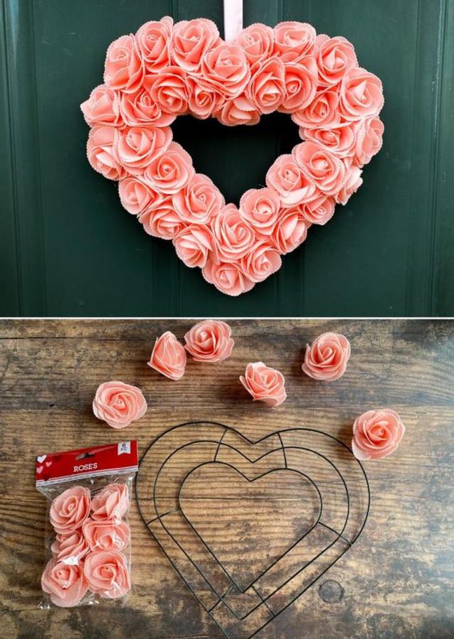 Decoração dia dos namorados com flores