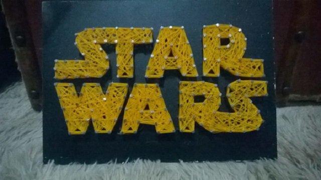 String art star wars