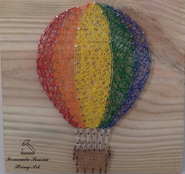 String art de balão