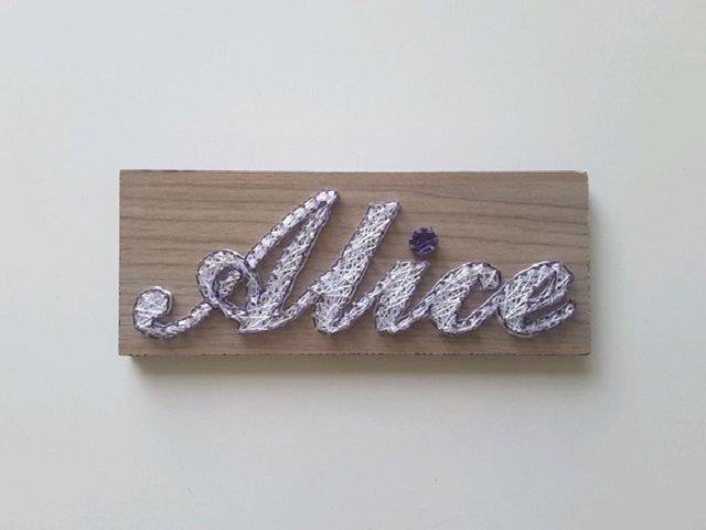 String art nome Alice